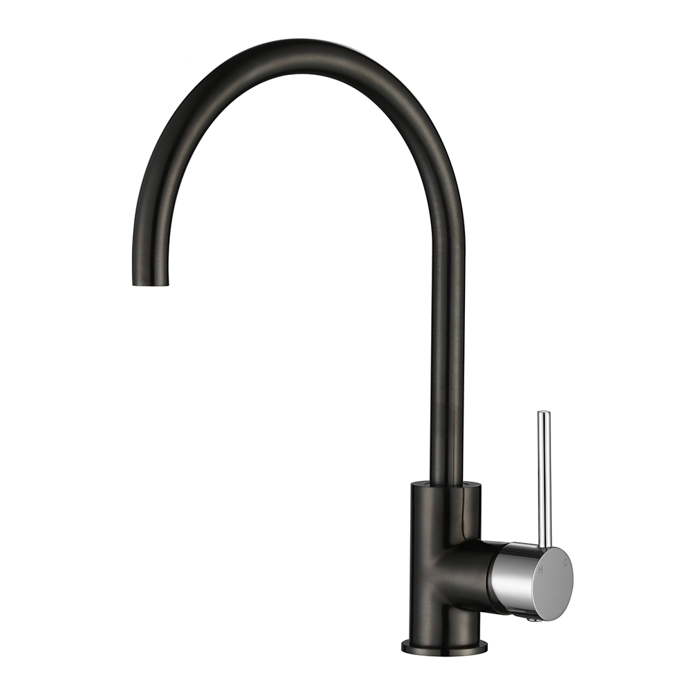 Star Mini Kitchen Mixer-Chrome & PVD Gun Metal