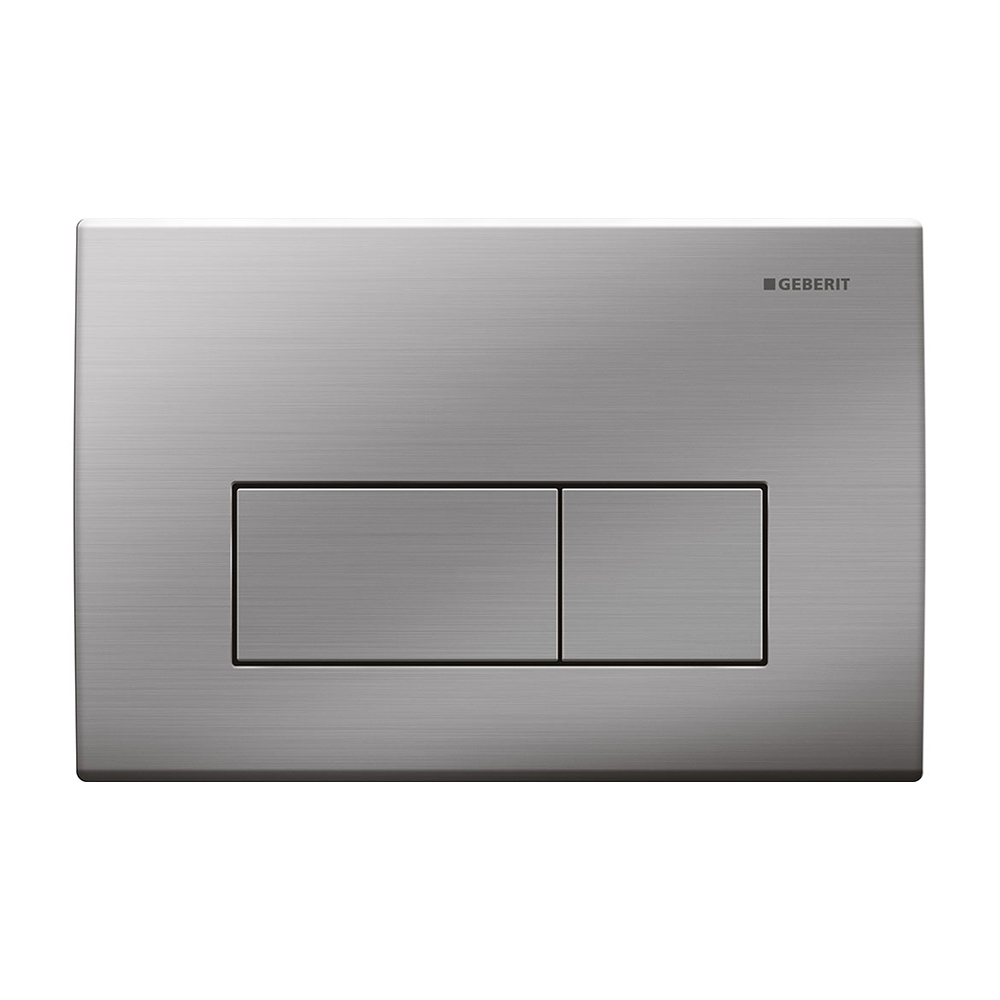 Kappa50 Dual Flush Button- Brushed Stainless Steel