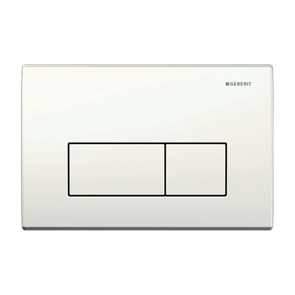 Kappa50 Dual Flush Button- White