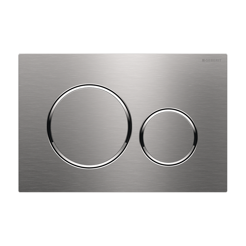 Sigma20 Dual Flush Button- Stainless Steel
