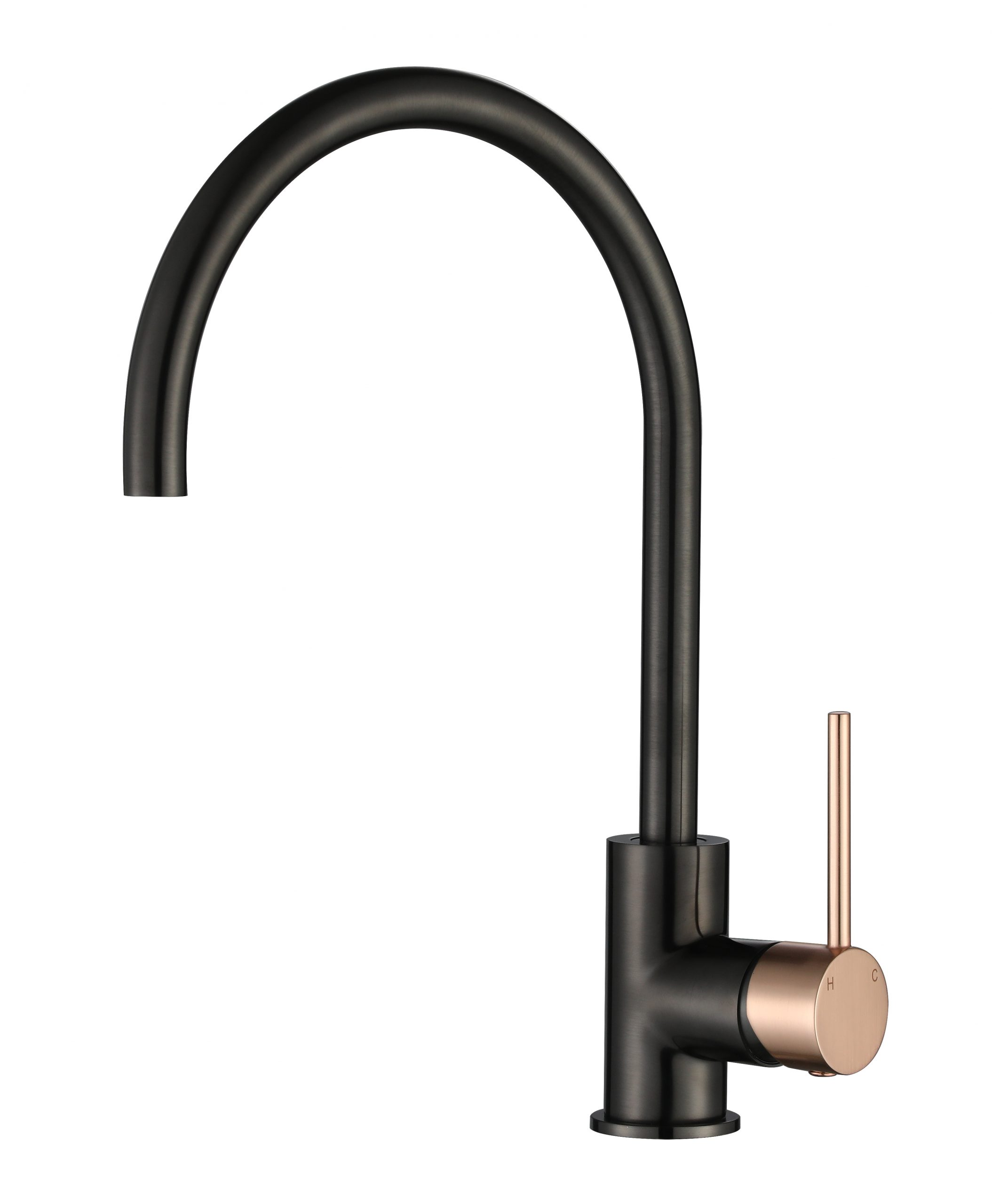 Star Mini Kitchen Mixer-Flemish Copper & PVD Gun Metal