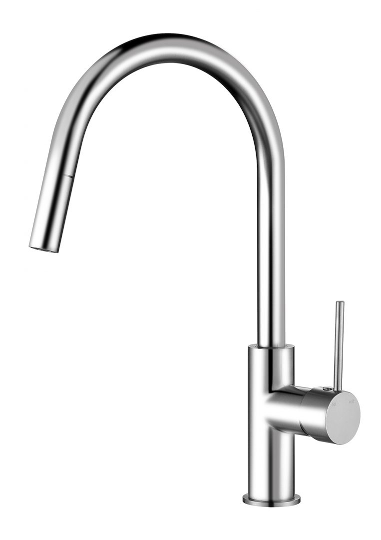 Star Mini Pull Out Kitchen Mixer-Chrome
