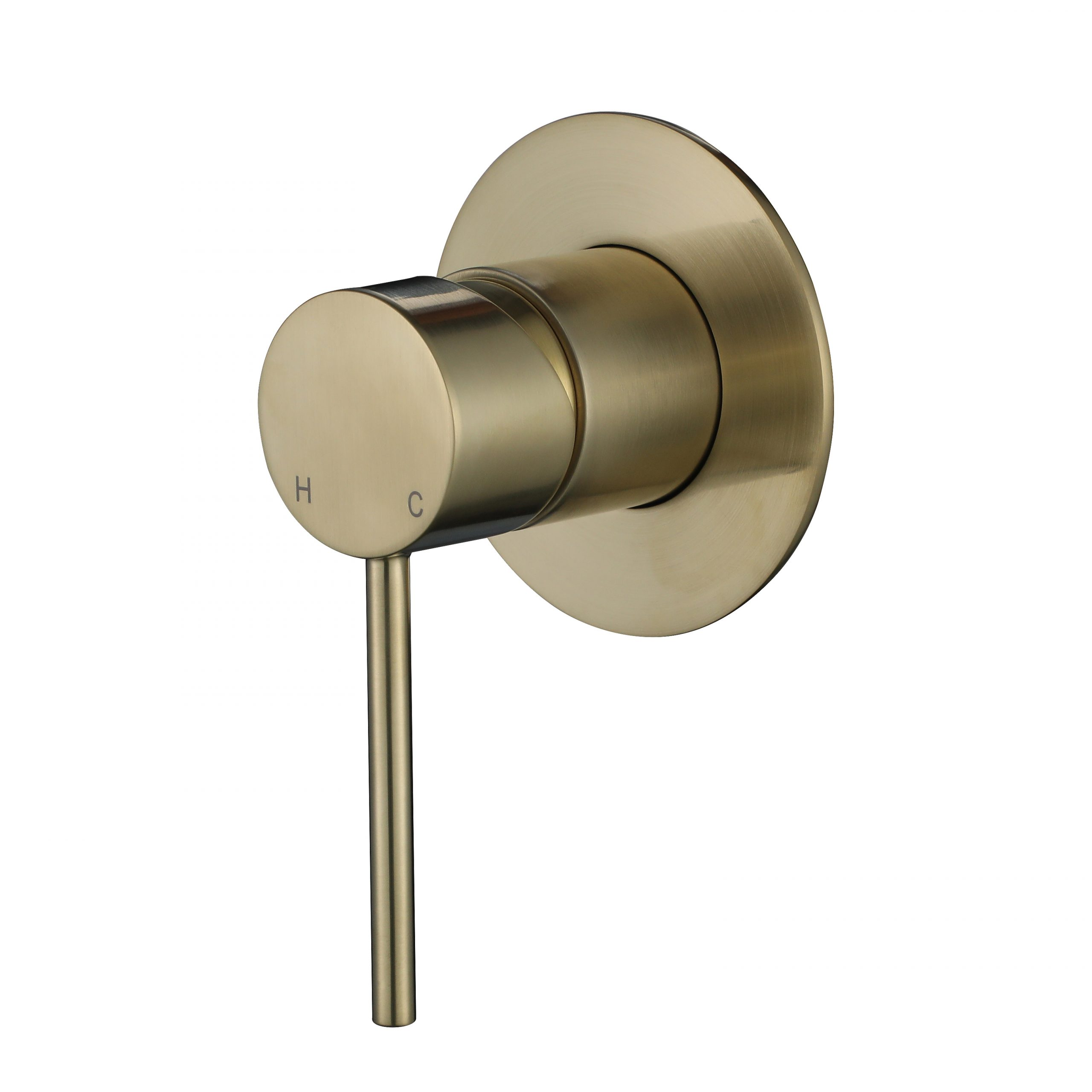 Star Mini Shower Mixer-PVD Brushed Bronze