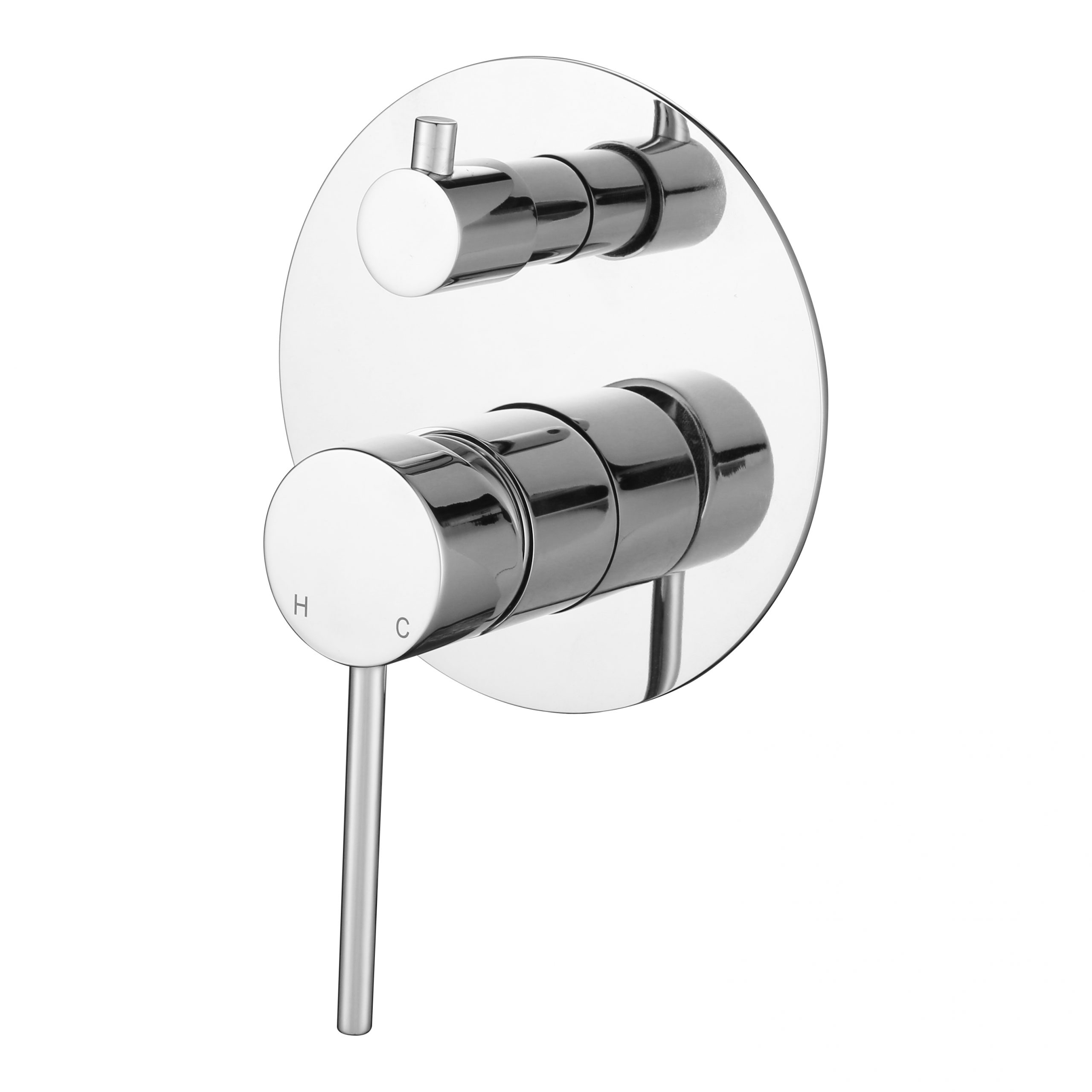 Star Mini Shower Divertor-Chrome