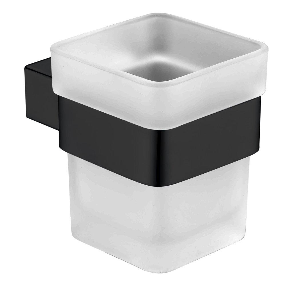 Qube Tumbler Holder-Matt Black