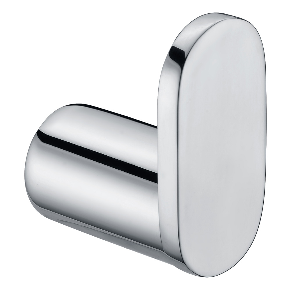 Curve Single Robe Hook-Chrome