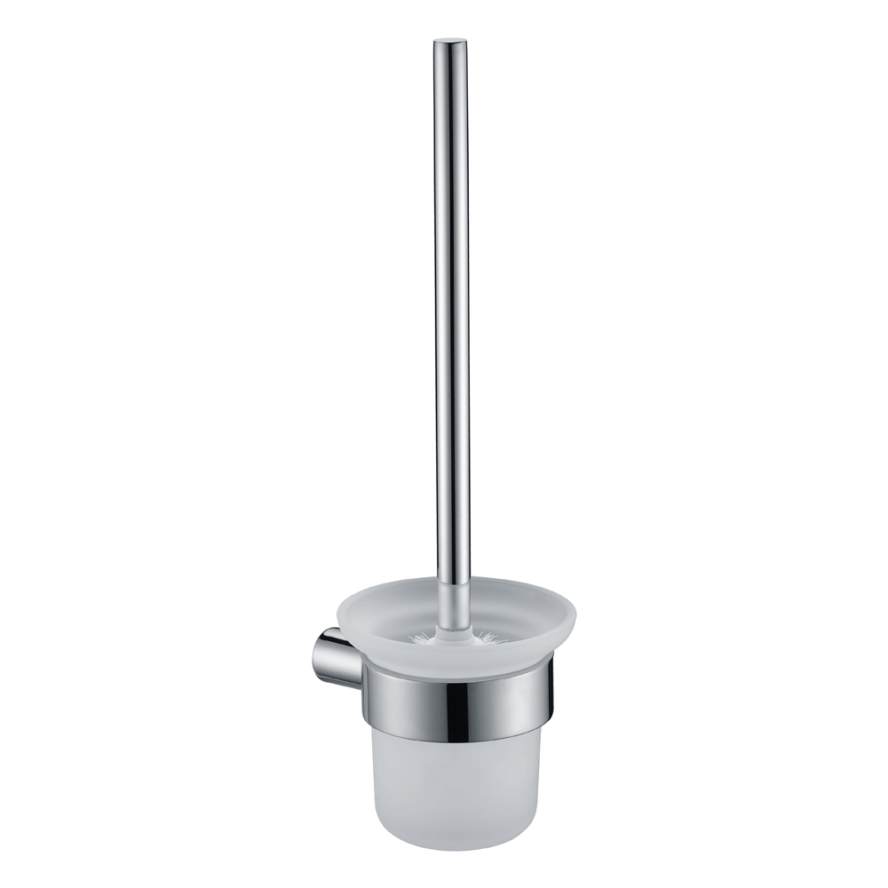 Curve Toilet Brush Holder-Chrome