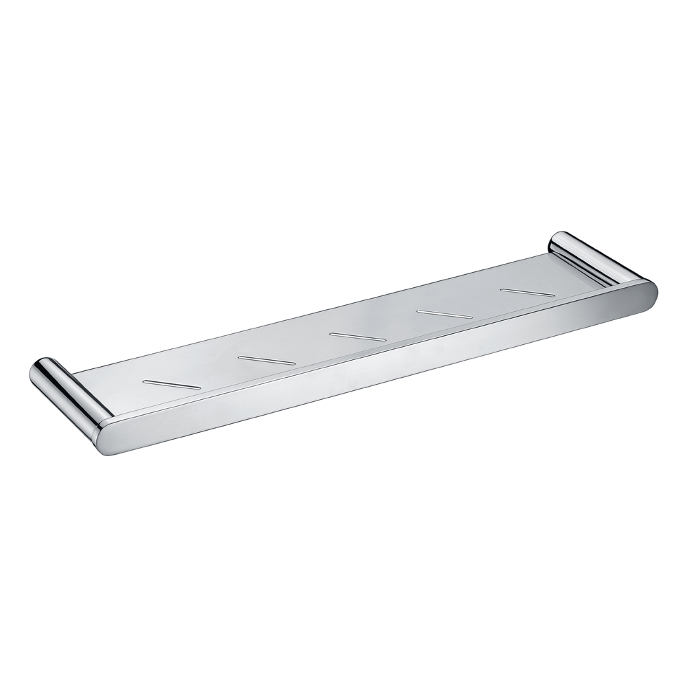 Curve Metal Shelf-Chrome