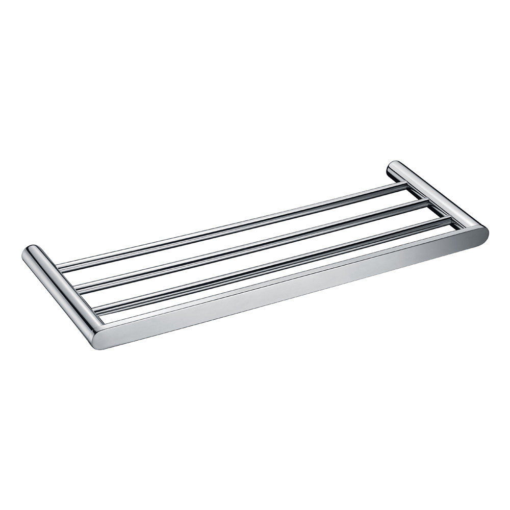 Curve Towel Rack-Chrome