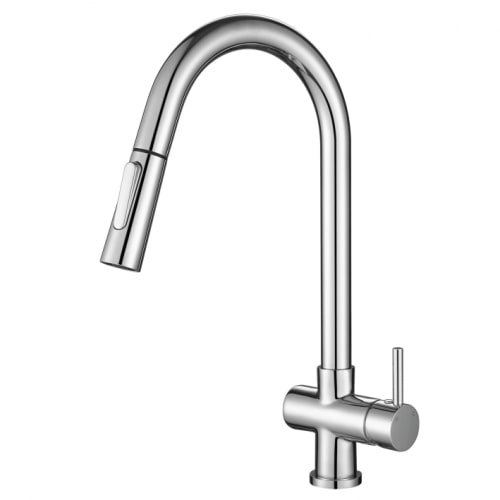 Pull Out Kitchen Mixer Chrome