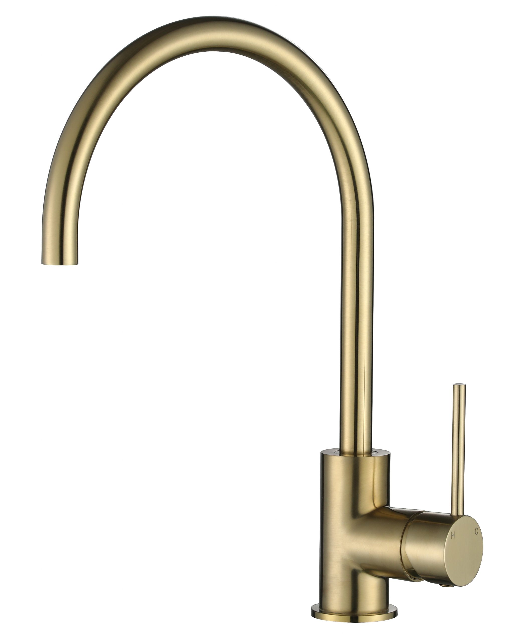 Star Mini Kitchen Mixer-PVD Brushed Bronze