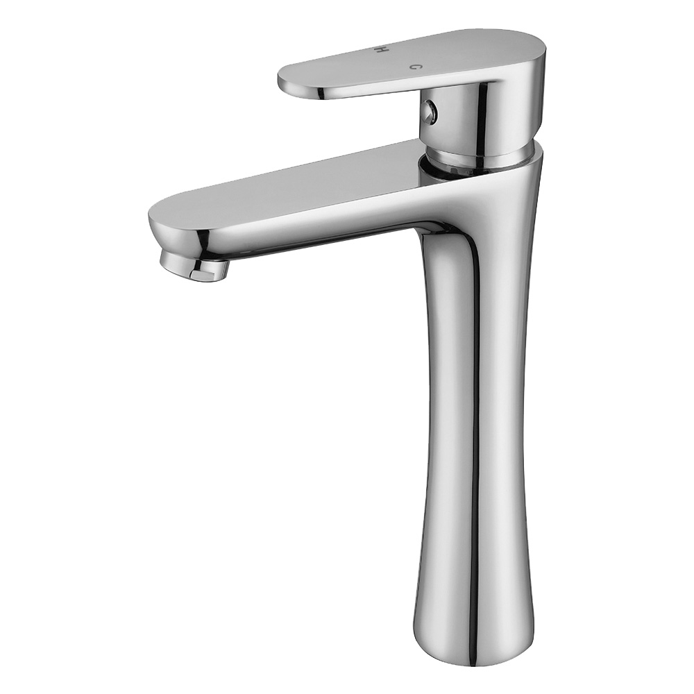 Ace Tall Basin Mixer Chrome