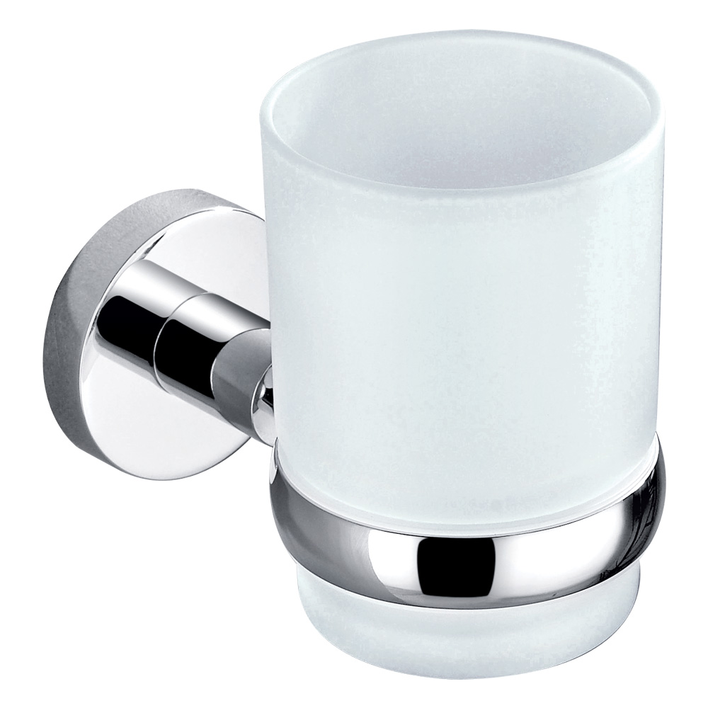 Pin Single Tumbler Holder-Chrome