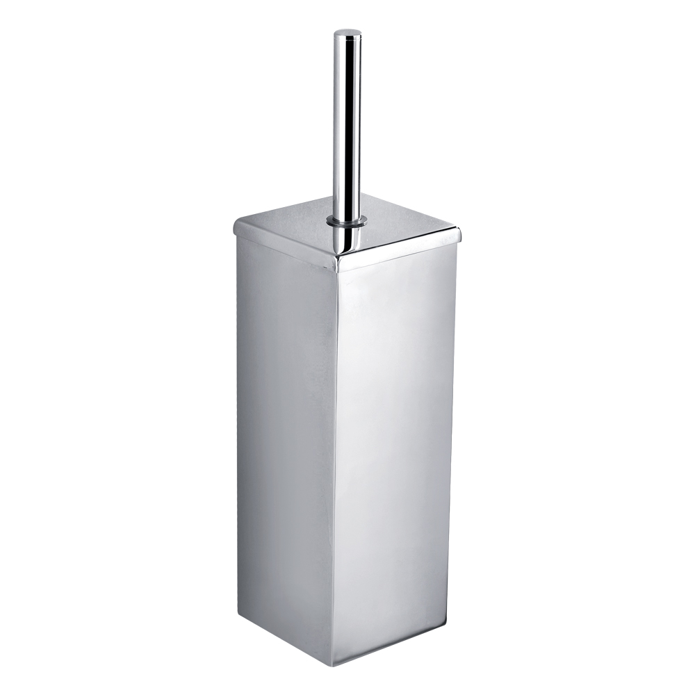 Bold Toilet Brush Holder-Chrome