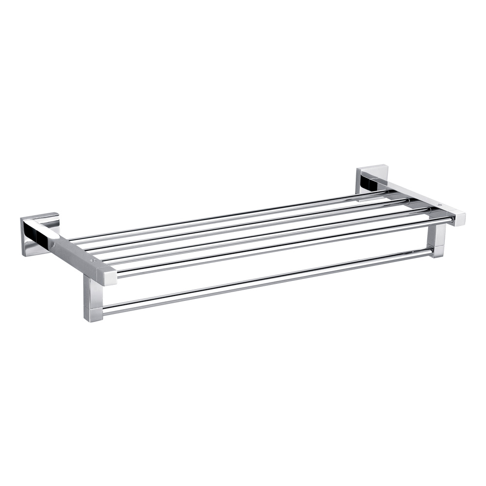 Bold Towel Rack-Chrome
