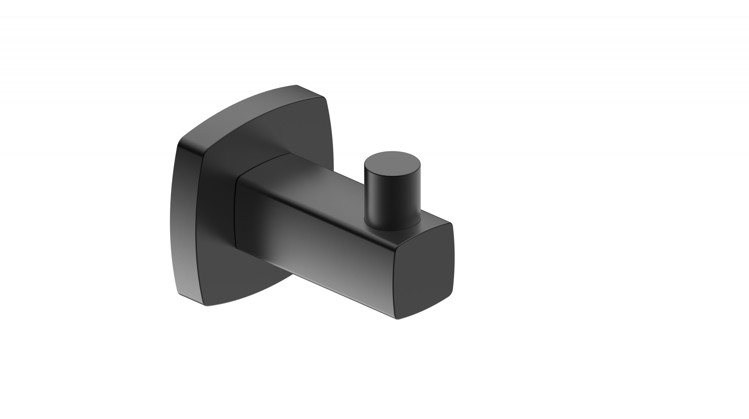 Luxus Robe Hook-Matt Black