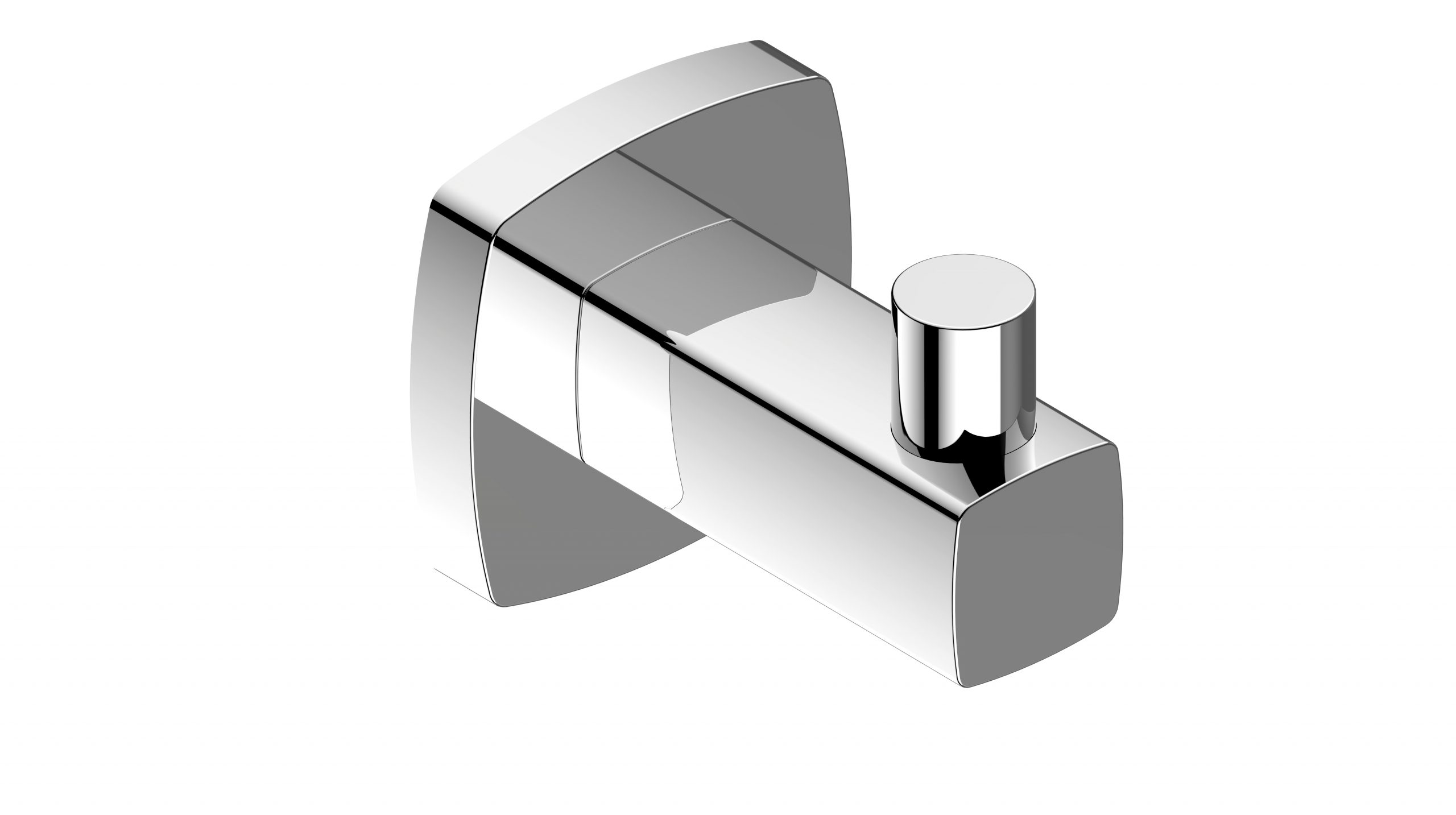 Luxus Robe Hook-Chrome