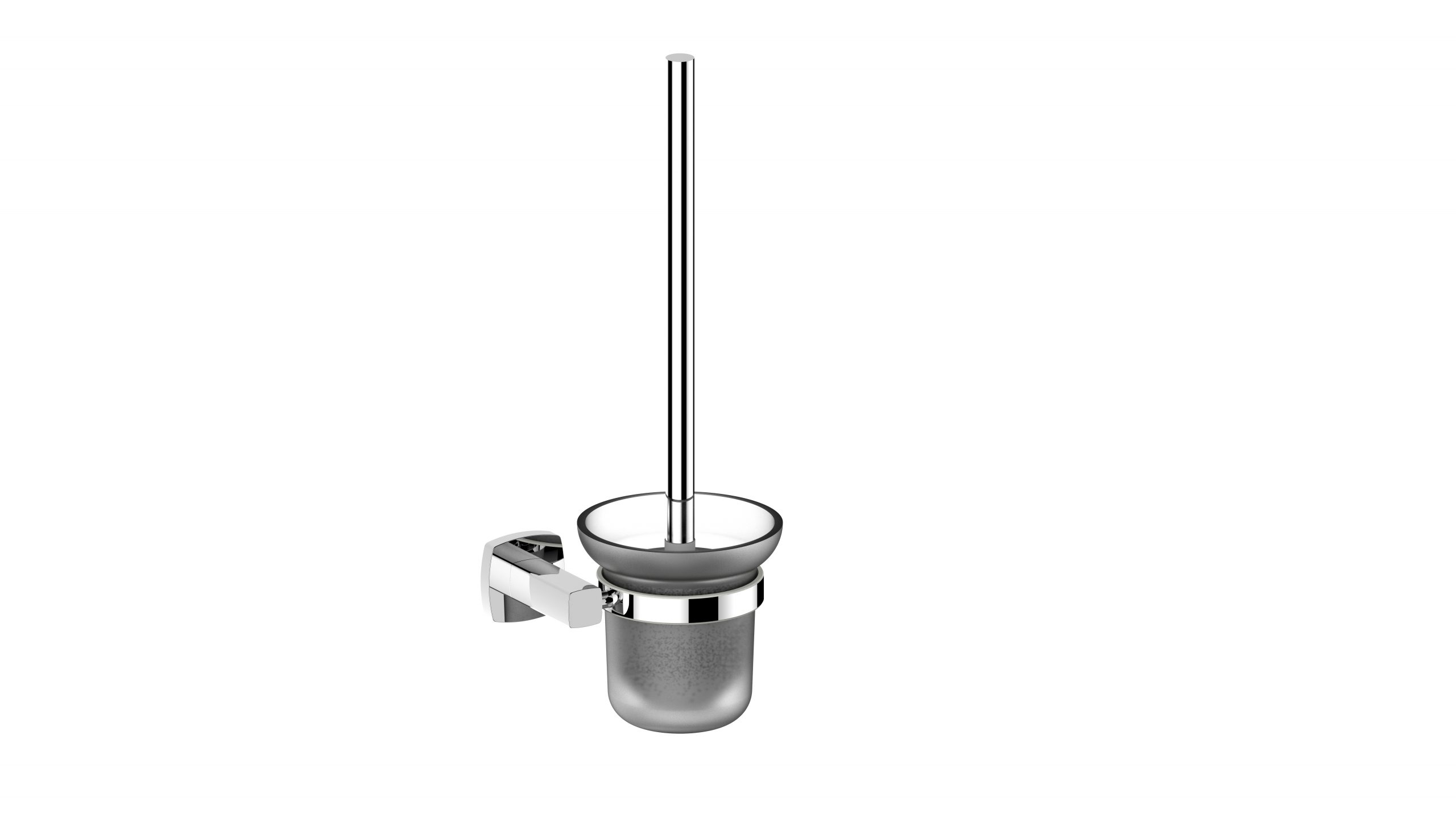 Luxus Toilet Brush Holder-Chrome