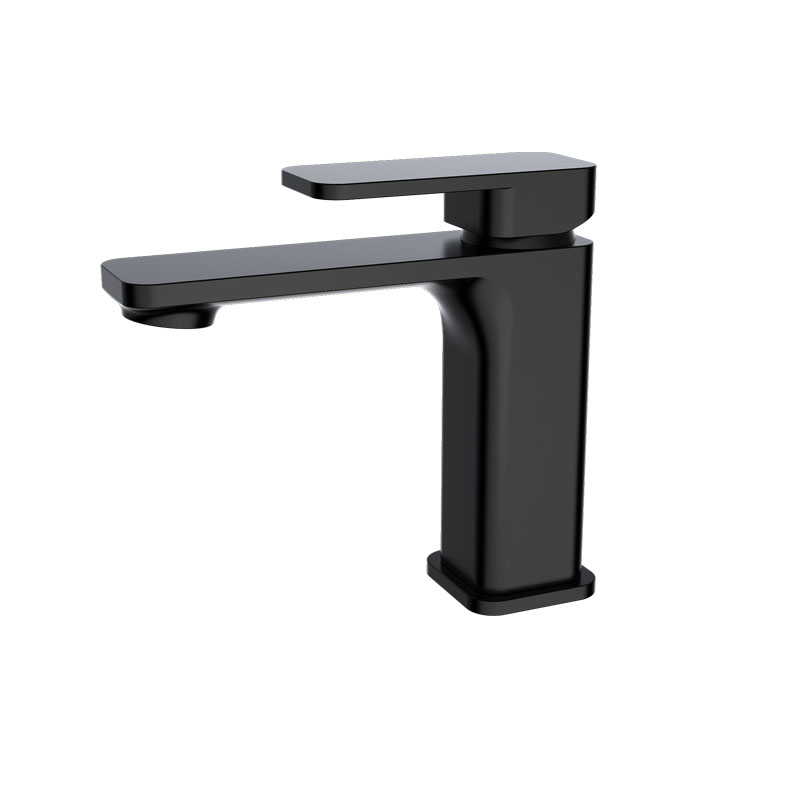 Kasten Basin Mixer-Matt Black