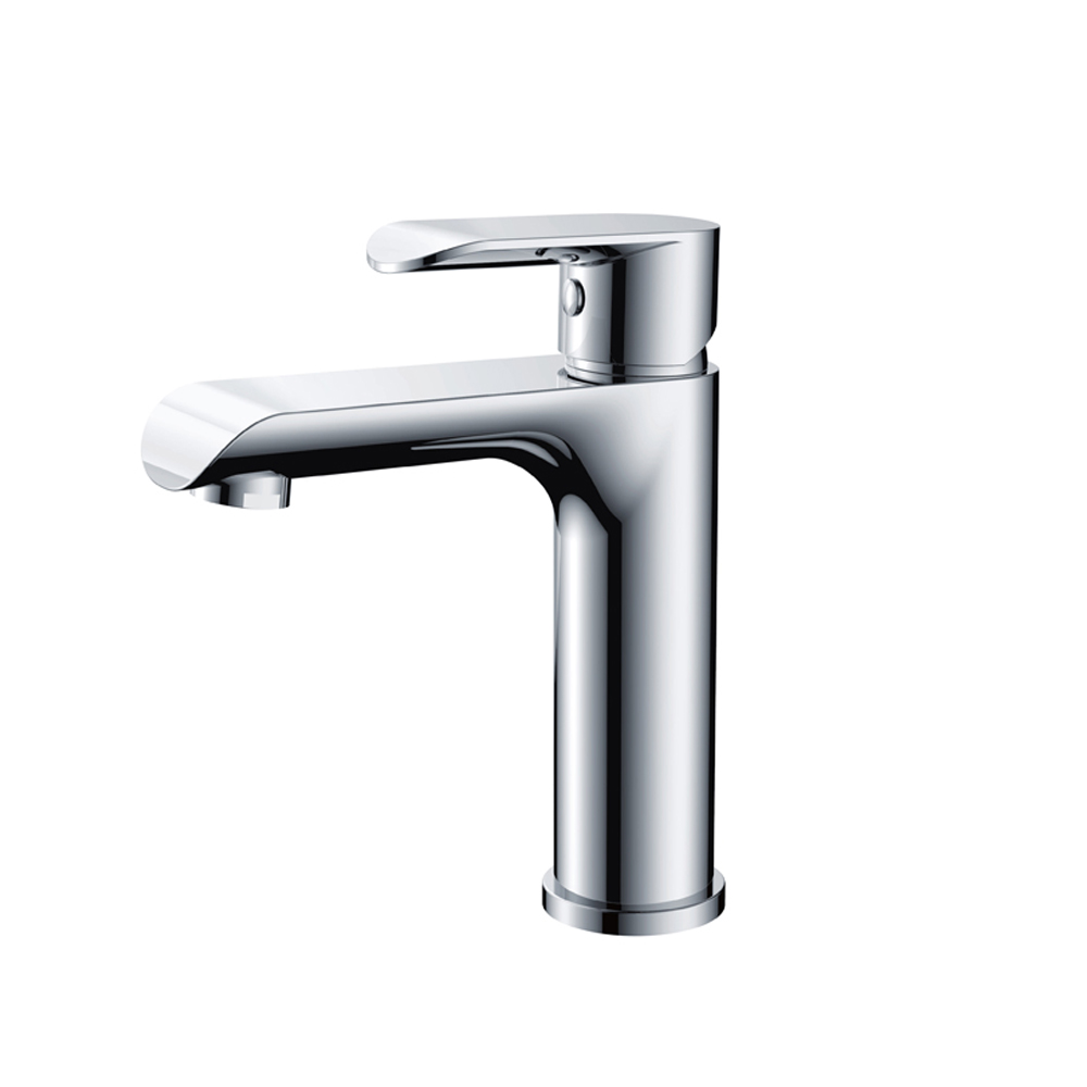 Curve Basin Mixer-Chrome