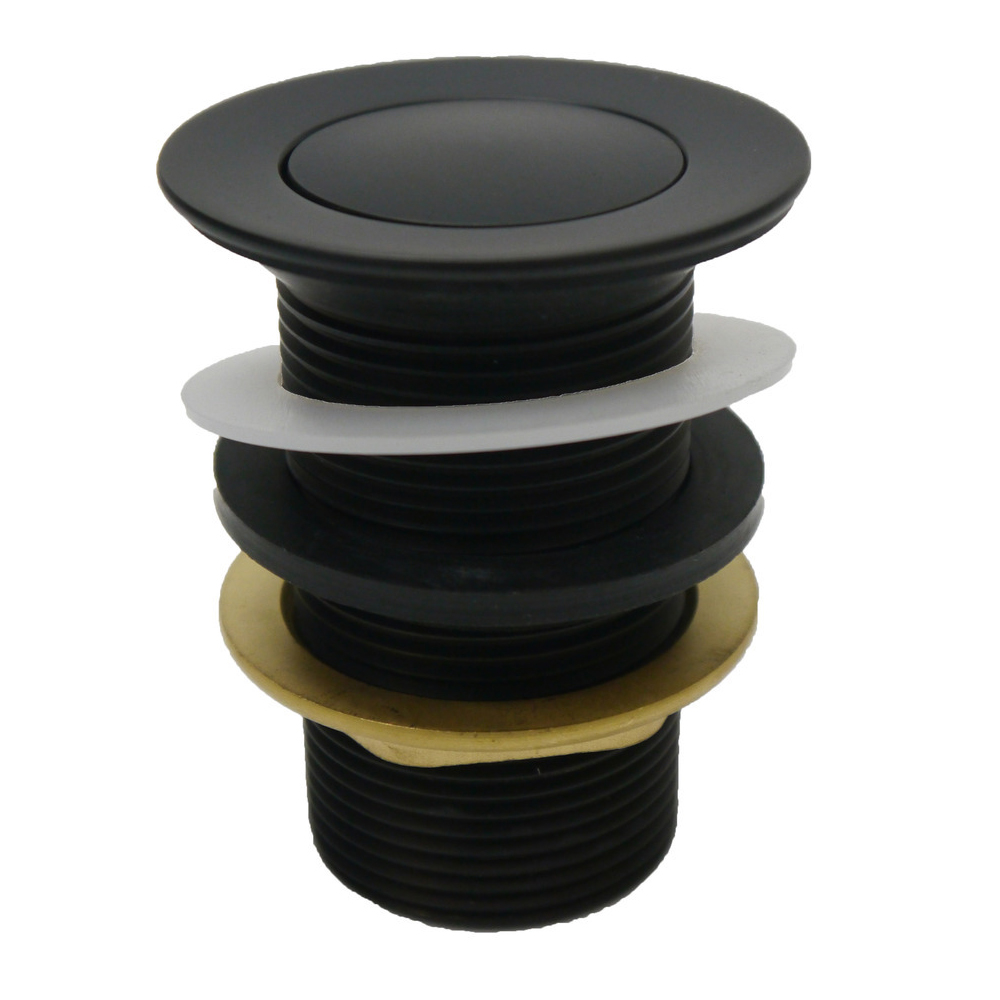 Pop-Up 32mm Waste Non-Overflow-Matt Black