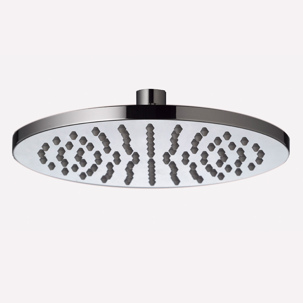 Round Shower Head ABS 200mm-Chrome