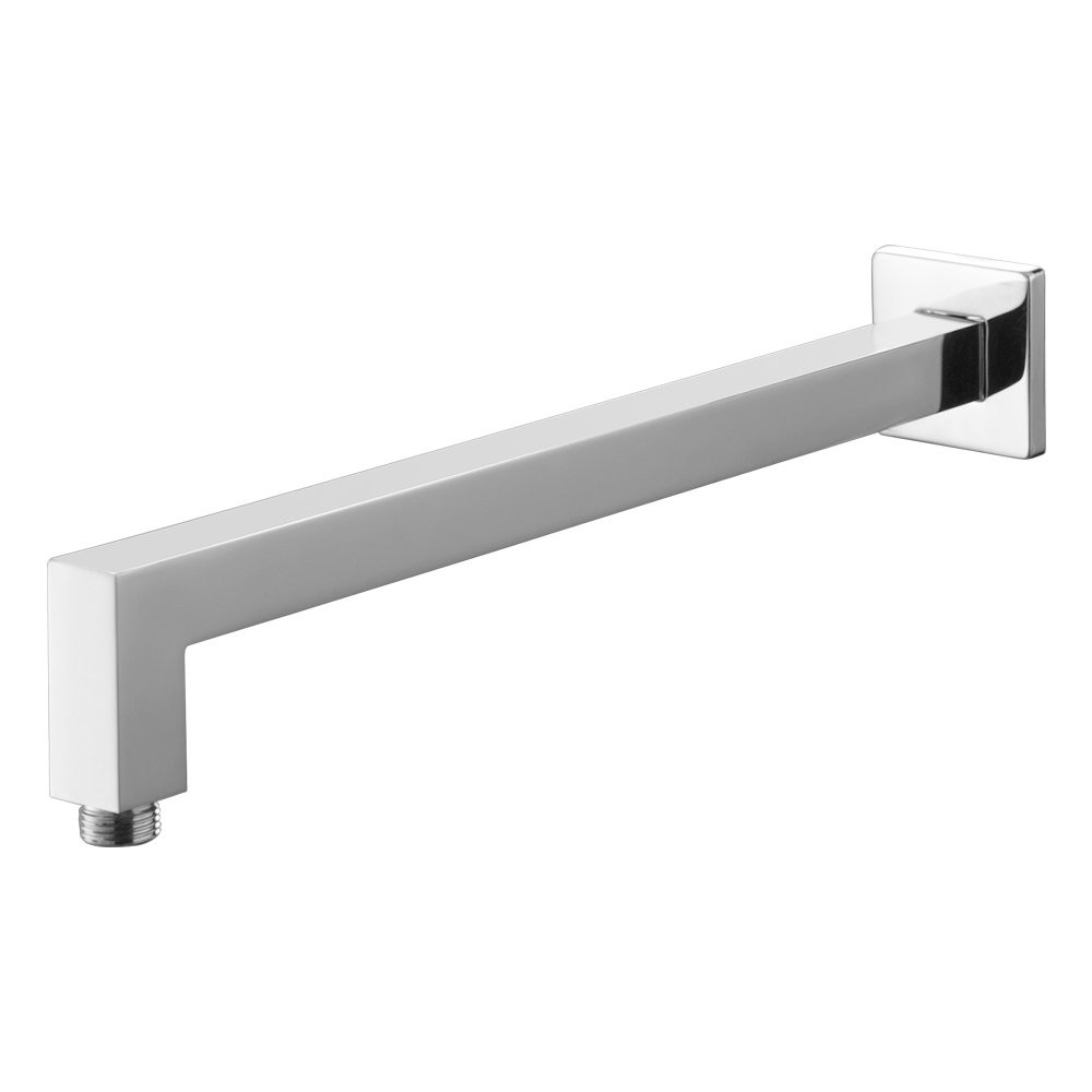 Square Shower Wall Arm-Chrome