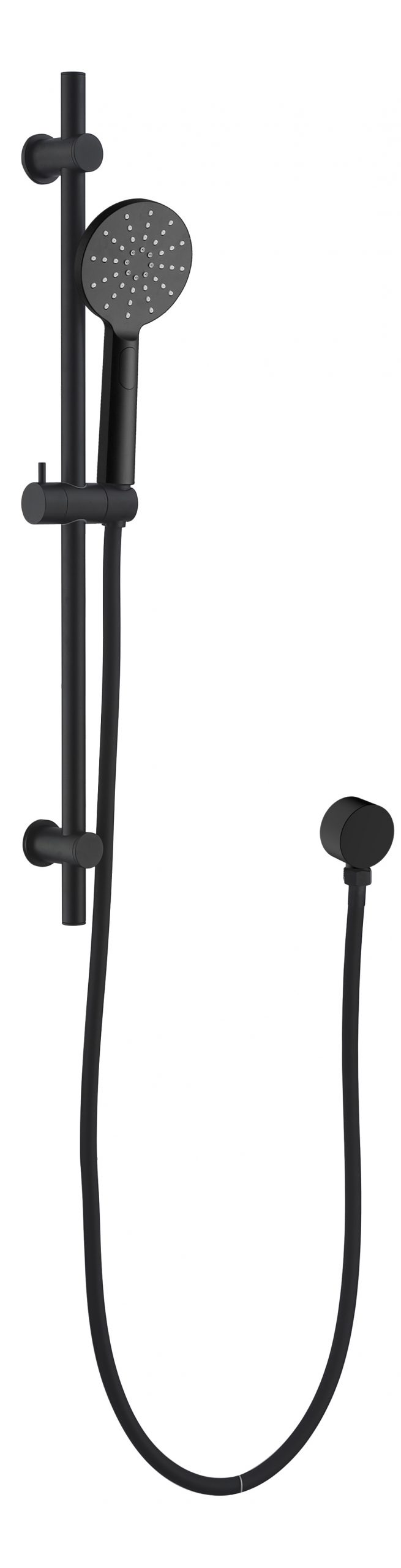 Clair Rail Shower-Matt Black