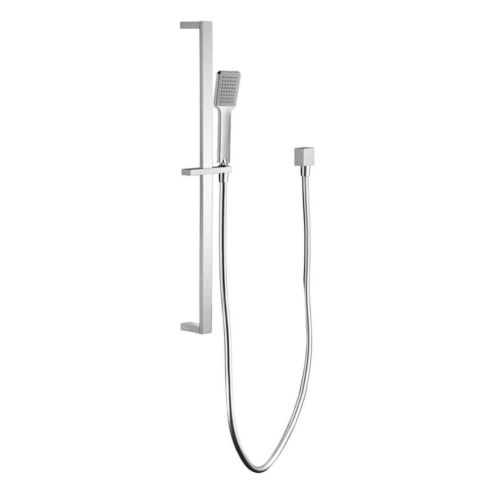 Bold Rail Shower-Chrome