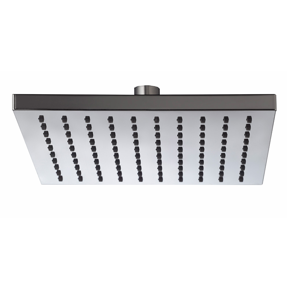 Plate Square Shower Head ABS 200mm Chrome