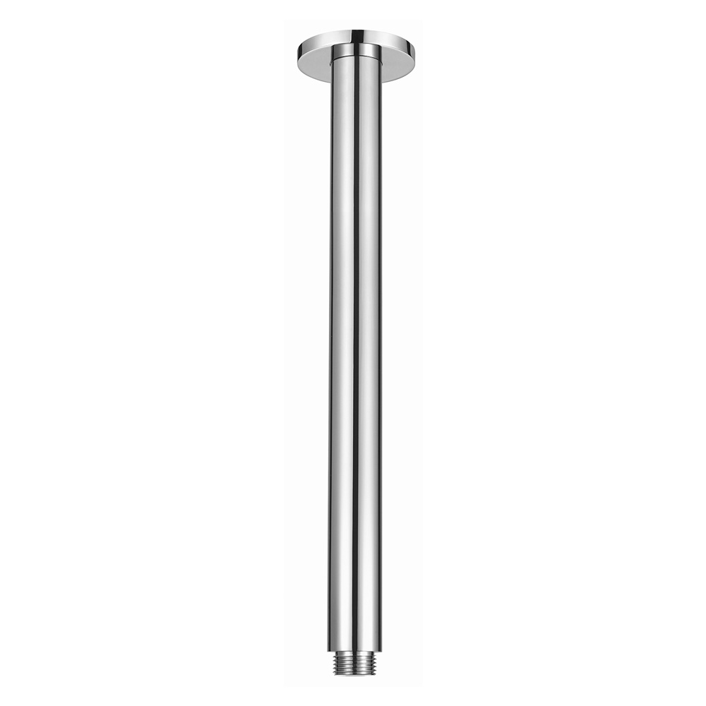 Round Ceiling Arm 300mm-Chrome
