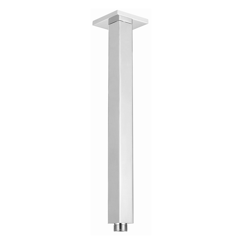 Square Ceiling Arm 300mm Chrome