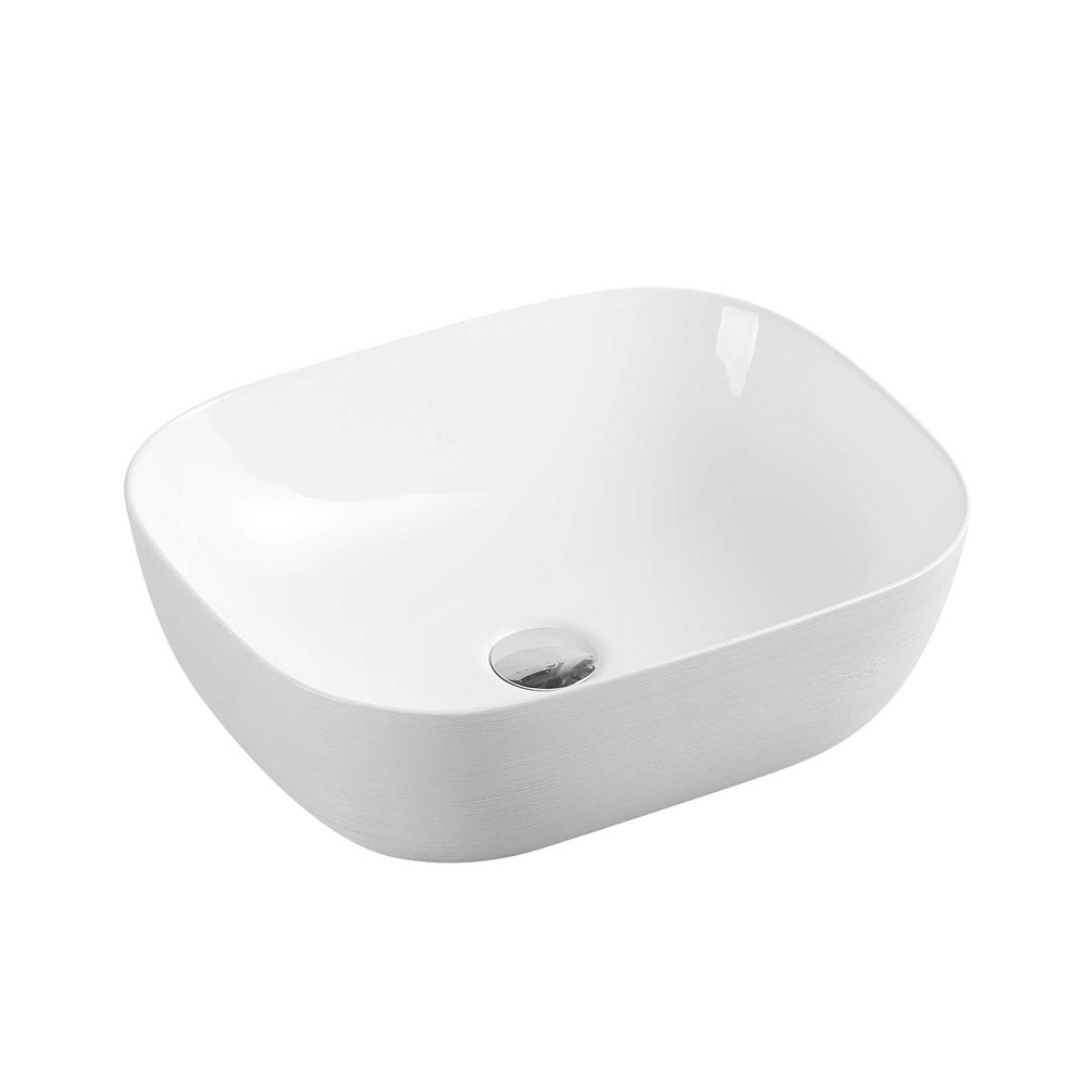 Chur Touchline White Counter Basin