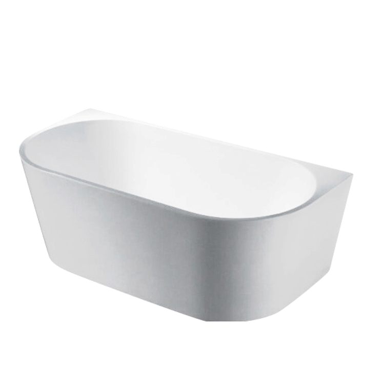 Elivia 1400 Back To Wall Freestanding Bathtub