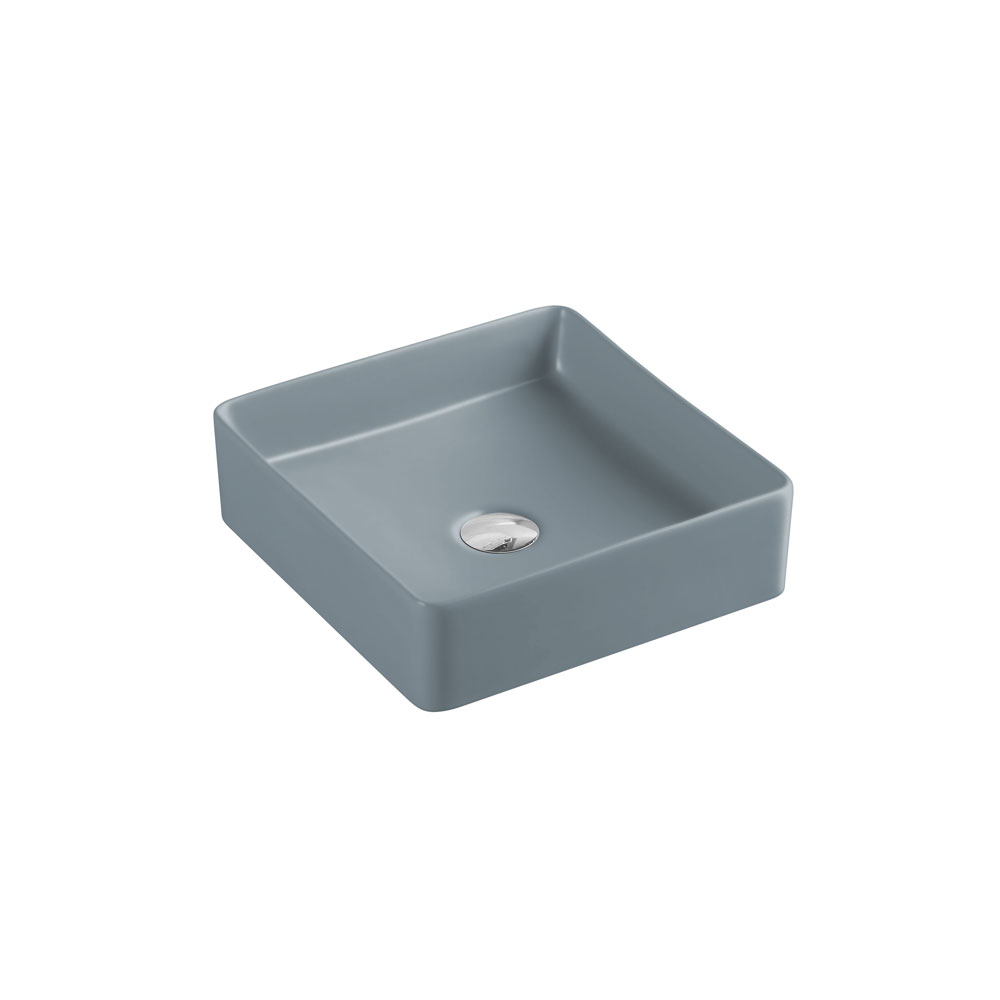 Etna Square Counter Basin - Tango Grey