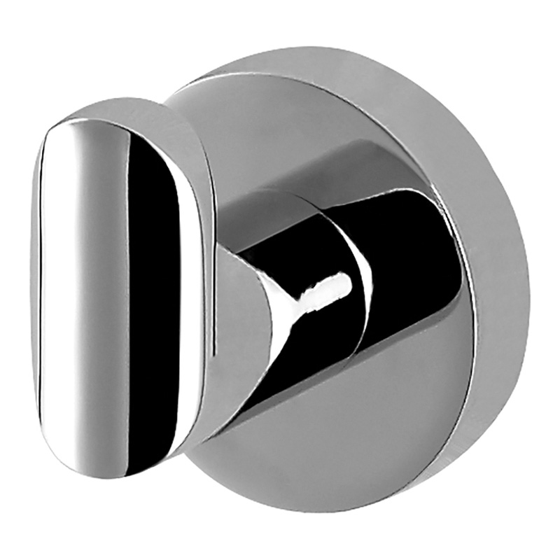 Eva Single Robe Hook Chrome
