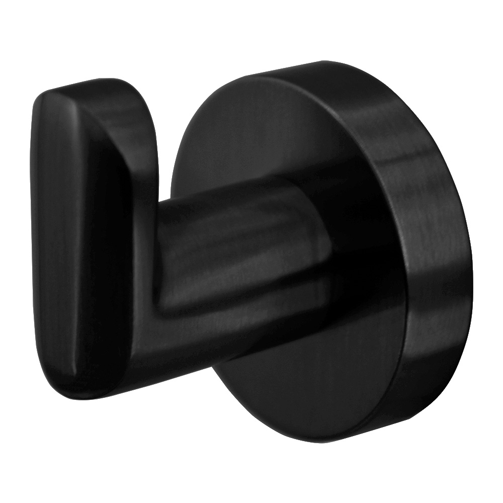 Eva Single Robe Hook Matte Black
