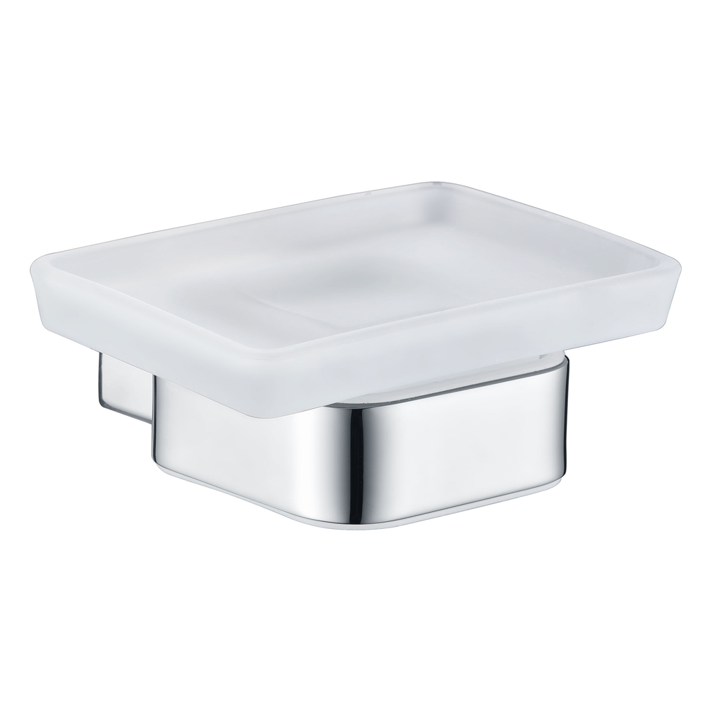 Qube Soap Dish- Chrome