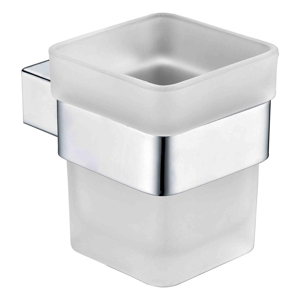 Qube Tumbler Holder- Chrome