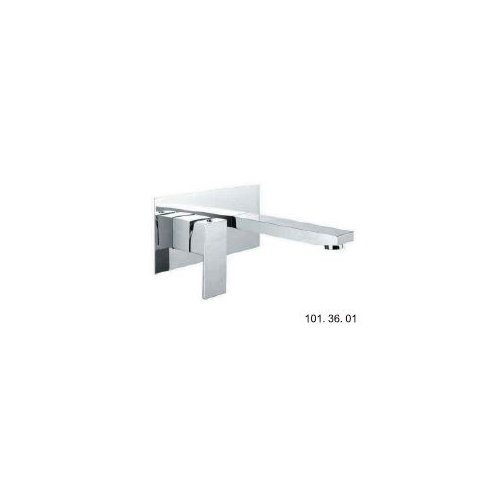 Chao Wall Basin Mixer Chrome