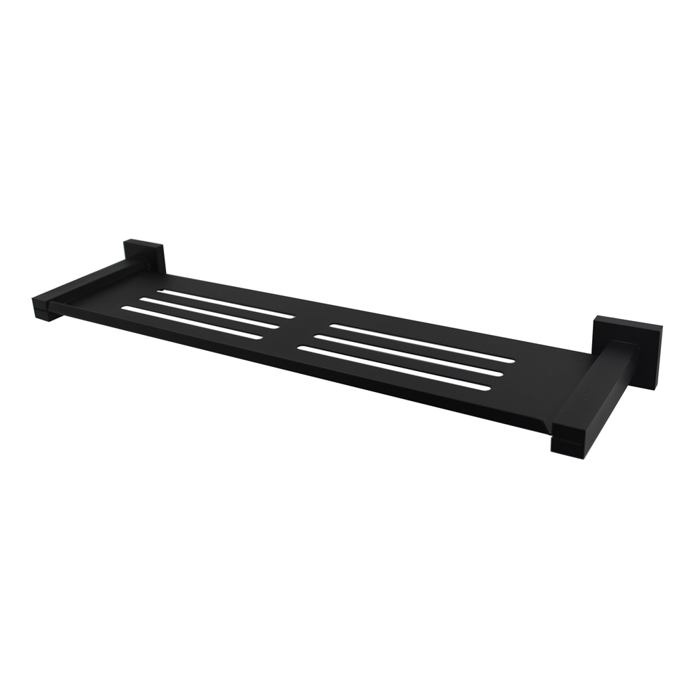 Luxe Metal Shelf Matt Black
