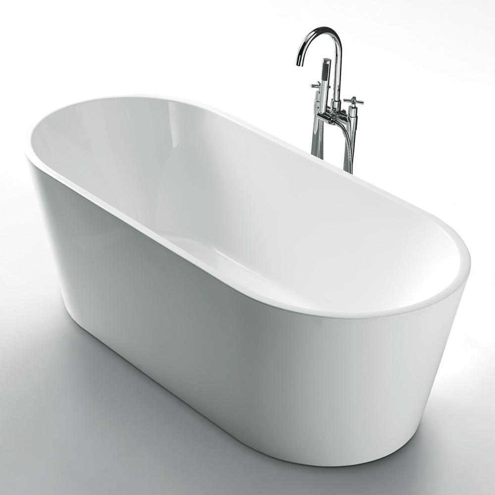 Rondo Freestanding Bathtub 1500mm