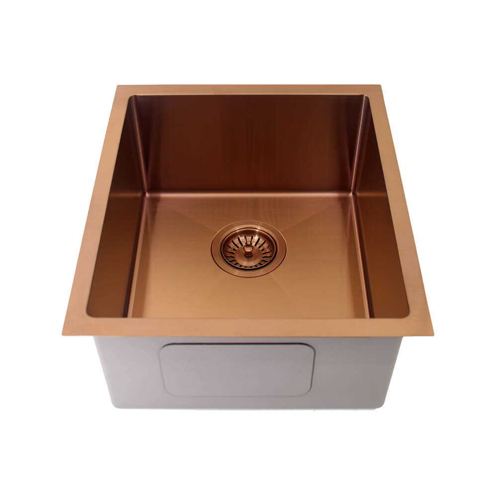 Kolora Single Bowl Sink Finish - Copper