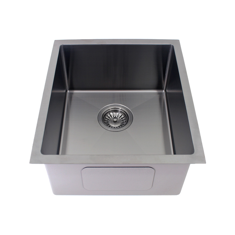 Kolora Single Bowl Sink Finish - Gun Metal