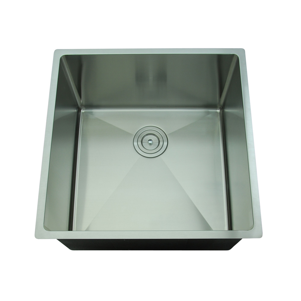 Rocco Single Bowl Sink Round Waste 450x450mm