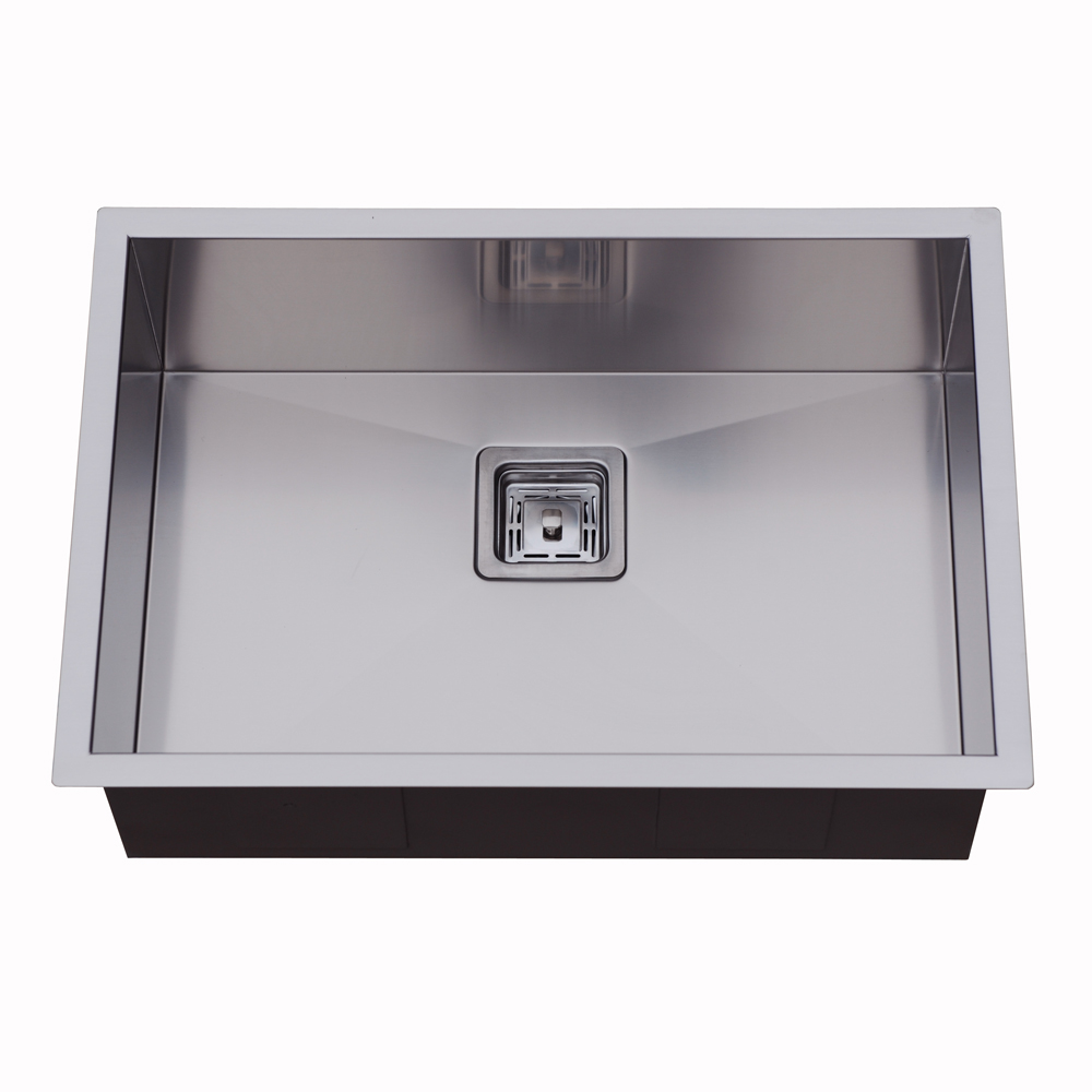 Rocco Single Bowl Sink Square Waste 650x450mm