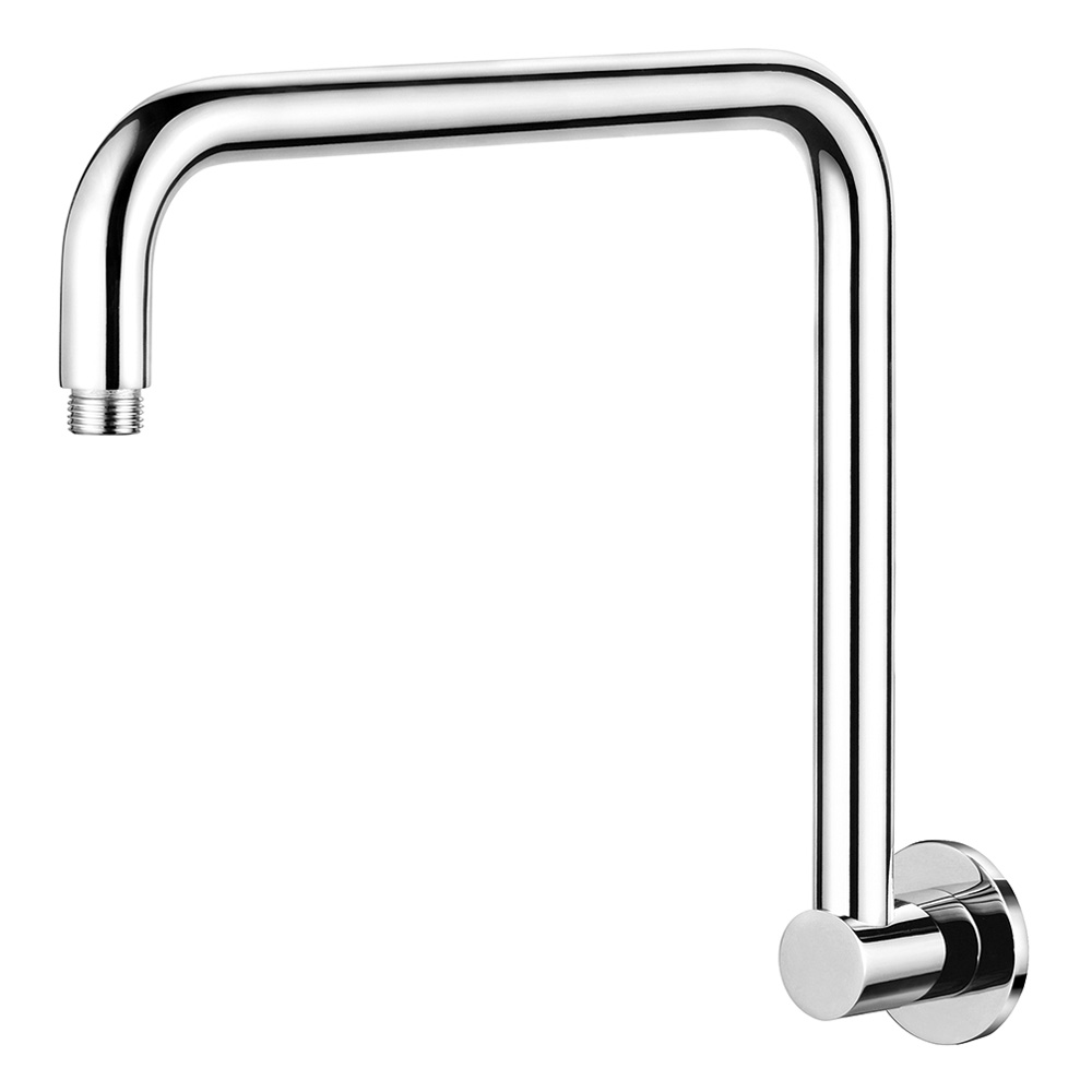 High Rise Round Shower Arm 350mm Chrome