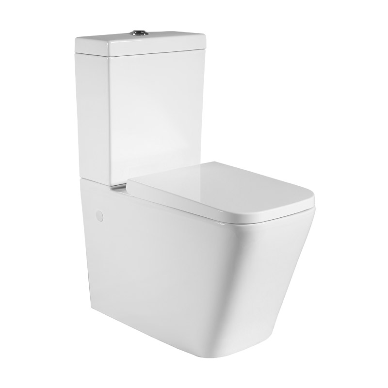 Qubist Back To Wall Toilet Suite