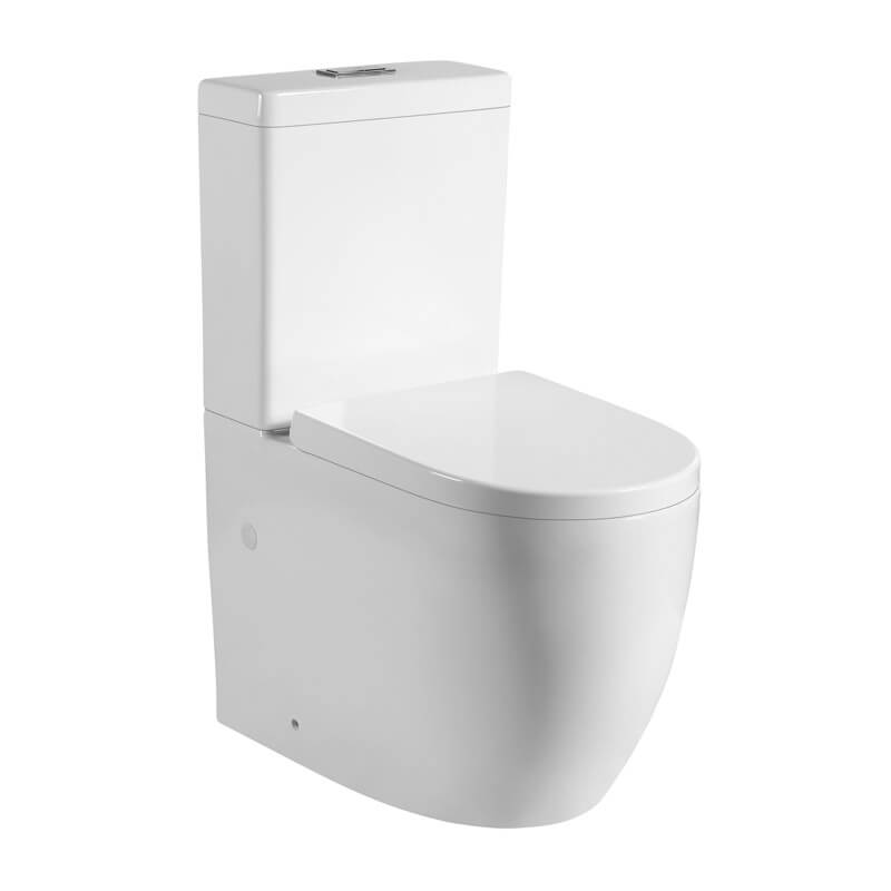 Veda Back to Wall Toilet Suite (Tornado Flush)