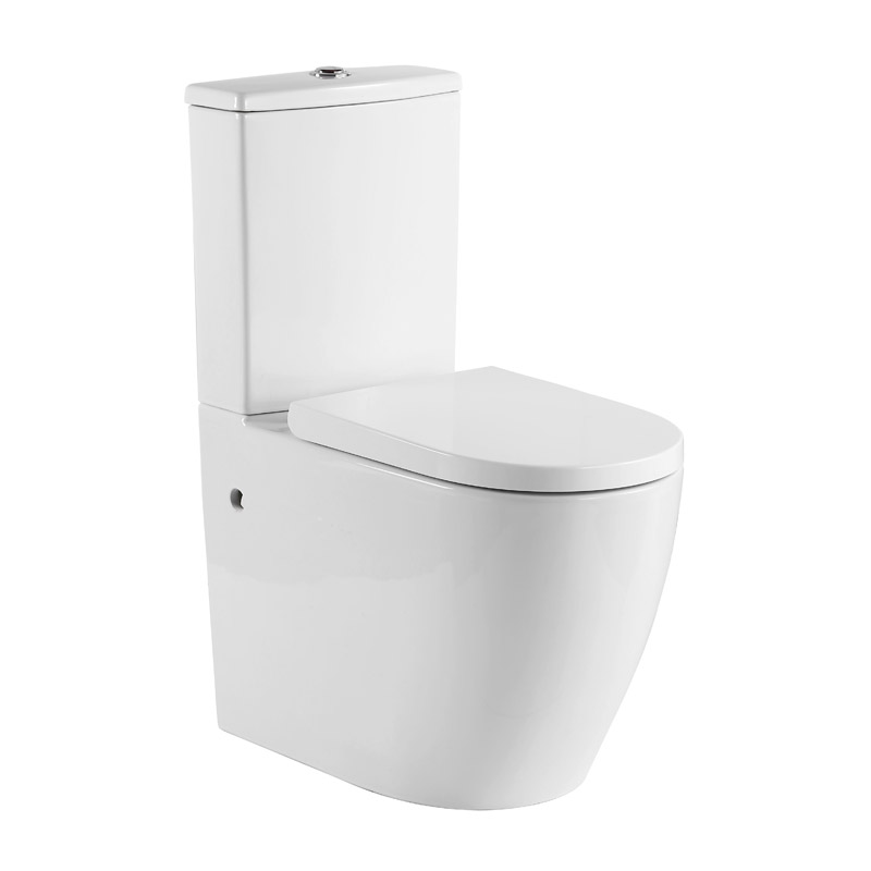 Elvera Easy Height Toilet Suite (Tornado Flush)